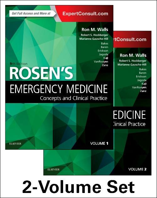 Photo of Rosen's Emergency Medicine / SKU: 9780323354790