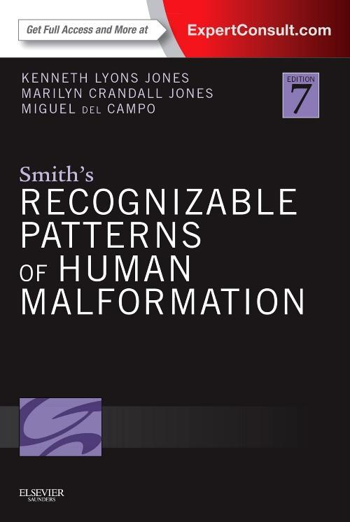 Photo of Smith's Recognizable Patterns Of Human Malformation / SKU: 9781455738113