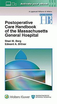 Photo of Massachusetts General Hospital Postoperative Care Handbook / SKU: 9781496301048