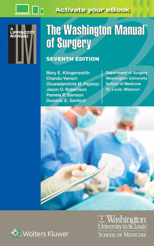 Photo of The Washington Manual Of Surgery / SKU: 9781496310781