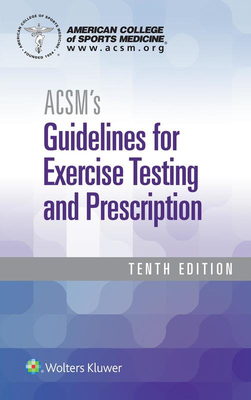 Photo of Acsm's Guidelines For Exercise Testing And Prescription / SKU: 9781496339065
