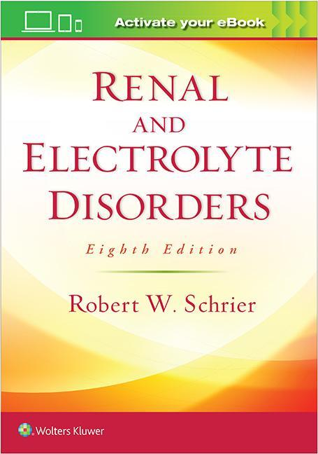 Photo of Renal And Electrolyte Disorders / SKU: 9781496340245