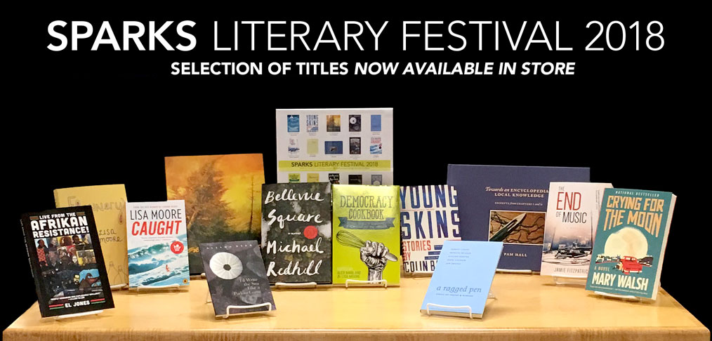 SPARKS Literary Festival 2018 - Selection of Titles Now Available In Store